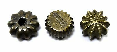 Lot Of 3 Collectible Antique Shape Bronze Miniature Scales Weight G15-139