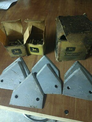 John Deere sickle bar knife sections with JD Rivets FREE SHIP