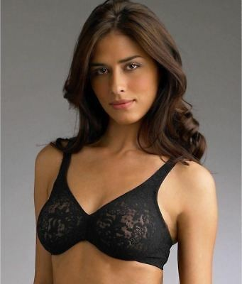 dcfdd1727724e WACOAL HALO LACE Full Figure UW Bra 32DDD MSRP 48.00usd -  30.00 ...