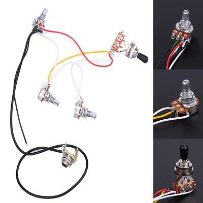GUITAR WIRING HARNESS Lot- 3 and 5-way Switches,Pots, Parts ... on