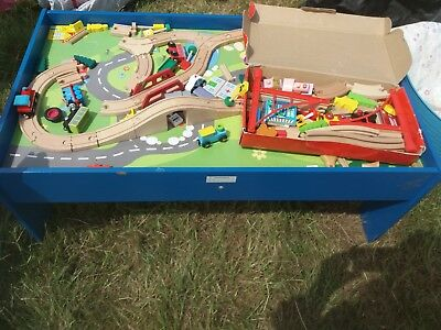CHAD VALLEY PLAY table with train set - £13.00 | PicClick UK
