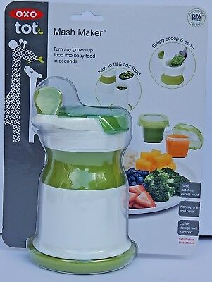 OXO tot MASH MAKER NEW AUTHENTIC BPA FREE