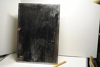Vintage Metal Bathroom Medicine Cabinet Mirror