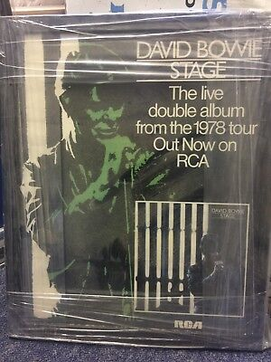 1978 David Bowie promotional poster