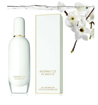 Clinique AROMATICS ELIXIR in White EDP 50ml SP New in Boxed Authentic