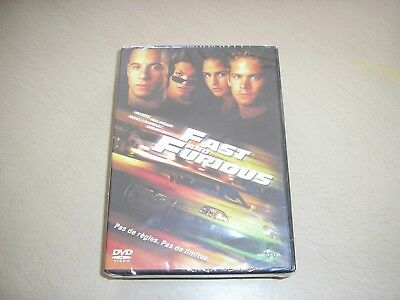 "DVD neuf sous blister,""FAST AND FURIOUS"",vin diesel,paul walker"