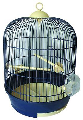 Cage Oiseaux Ronde Lily 34X52H Cm Equipee 107713