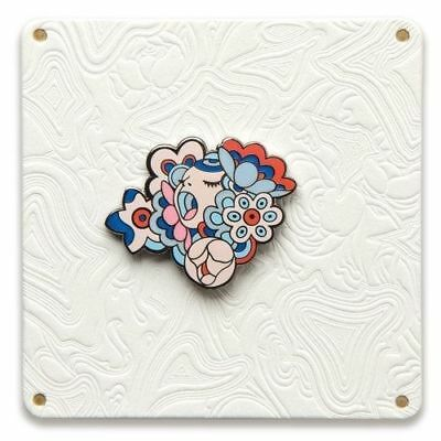 Figaro James Jean Bouquet Pin Limited Lapel Collectible Japanese Murakami Choe
