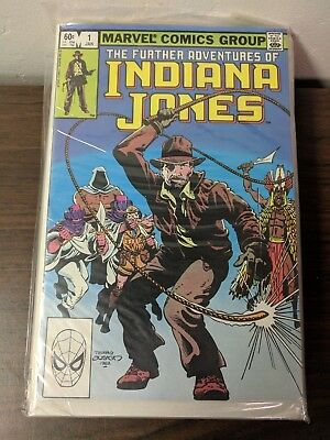 Further Adventures of Indiana Jones Marvel comics 1 through 12 and more