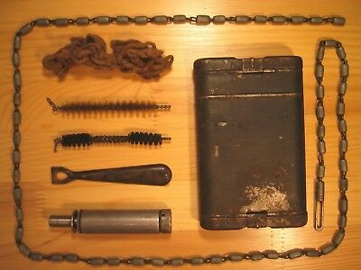 WW2 German army K98 Rifle cleaning kit & tools G.APPEL 1941 Wehrmacht infantry