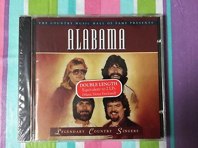 Alabama -  Time Life - Legendary Country Singers - 1996 NEW/Sealed CD 22 Hits