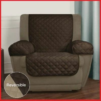 Recliner Chair Arm Cover Lazy Boy Pet Furniture Reversible