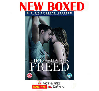 Fifty Shades FREED DVD New & Sealed Free Postage