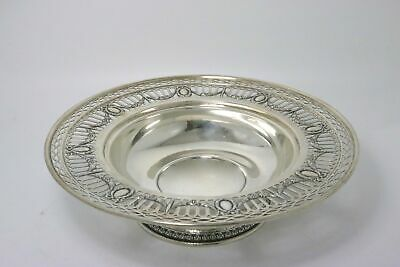 Sterling Silver Center Bowl Footed by Wm. B. Durgin