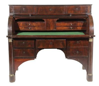Empire Style Bureau a Cylinder, 19th Century  ( 1800s )