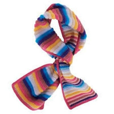 Missoni Orange Label Italy Multicolor Zigzag Girl Scarf  Bnwt $100