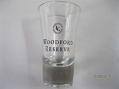 "RARE Labrot & Graham Woodford Reserve Distiller's Select TALL SHOT GLASS 3.5""X2"""