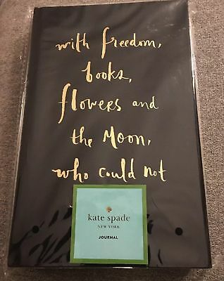 KATE SPADE NEW YORK Gold Foil Wit & Wisdom Notebook Diary Journal NEW SEALED