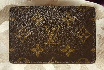 Authentic LOUIS VUITTON Malletier Vintage Business Card Case Holder