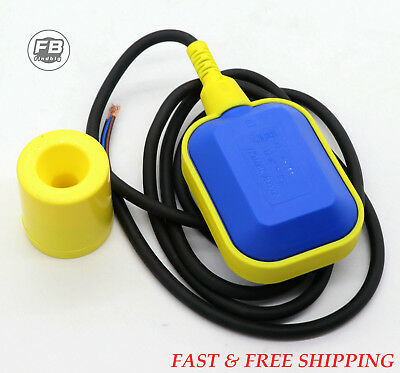 Float Switch Water or Liquid Level Sensor Sump Tank NO/NC Controller Automatic