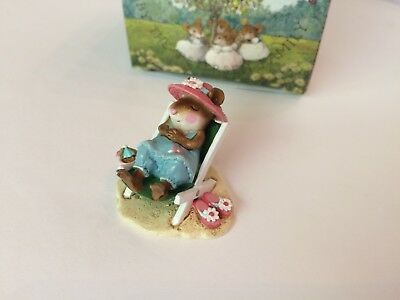 Wee Forest Folk M- 234 SUN SNOOZER Presence Store SPECIAL - MINT in Box