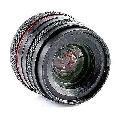 25mm F1.8 Prime Lens Manual Focus For Canon EF-M Mount Mirrorless Camera M6 M100