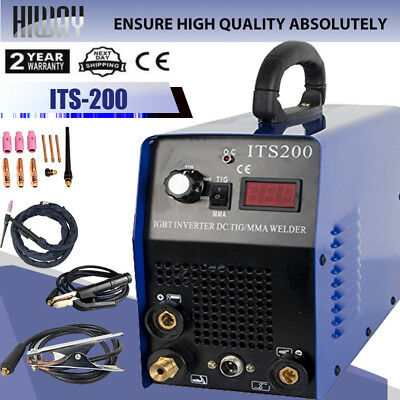 IGBTInverter TIG/MMA ARC 2in1 Welding Machine WS200 110/220V WIG Welder MACHINE