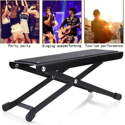 Guitarist Foot Rest Folding Stool Pedal Stand Guitar Player Anti Slip Support