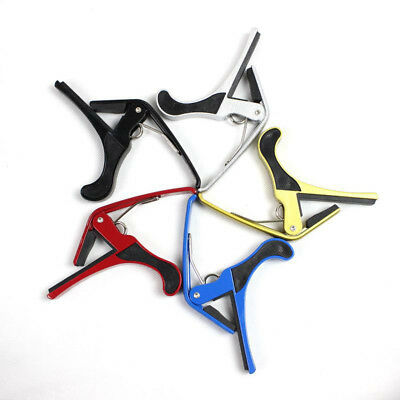 Folk Acoustic Electric Tune Guitar Capo Key Clamp Quick Change Trigger durable
