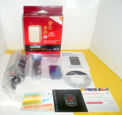 sandisk sansa clip+ 8gb mp3 player manual