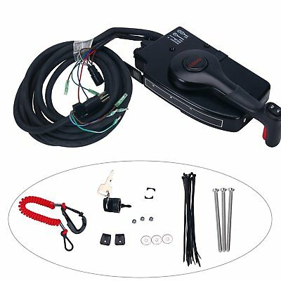 Mercury Side Boat Motor Outboard 8 Pin Mount Remote Control Box Cable Trig