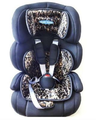 Child Baby 3 in 1  Car Seat Safety Booster For Group 1/2/3 9-36kg