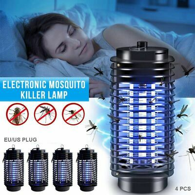Fly Wasp Bug Insect Killer Pest Repeller Electric Mosquito Zapper Lamp Trap MP