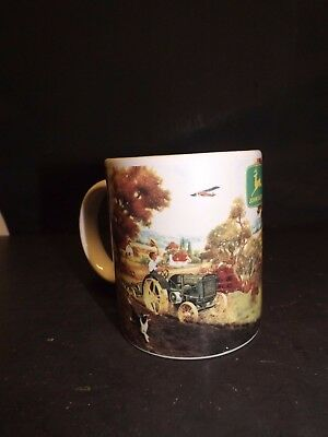 Licensed Nostalgic John Deere History Tractor Coffee Mug Cup