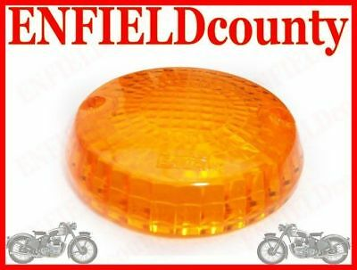 ROYAL ENFIELD ORANGE INDICATOR BLINKER COVER LENS 2Pc @DE