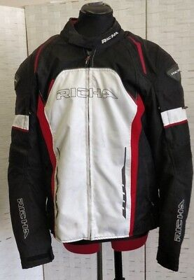 Richa Motorcycle Jacket XL D30 Approved Armour