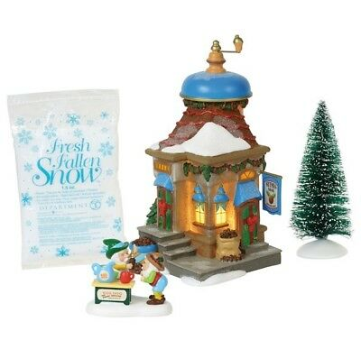 Dept 56 North Pole Nutmeg Nook Set of 4 #6000617 BRAND NEW 2018 Free Shipping