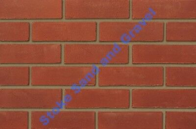 Ibstock Leicester red house bricks 65mm facing BH00462 best quality 5 packs