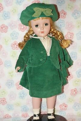 "PRETTY! Vintage 14"" Sweet Sue Hard Plastic Strung Doll"
