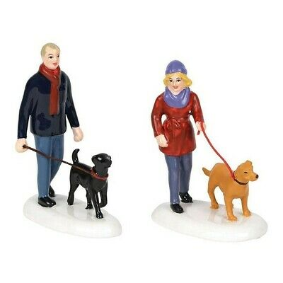 Dept 56 Snow Vlg Taking the Girls for a Walk #6001690 BRAND NEW 2018 Free Ship