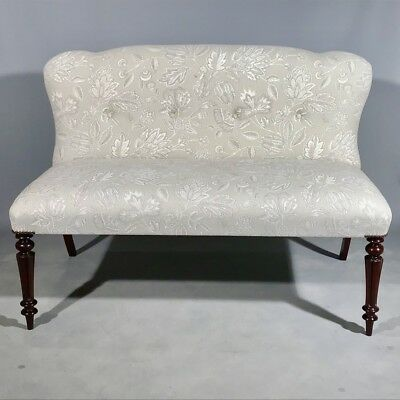 Antique Regency 2 seat sofa, fully restored and refurbished