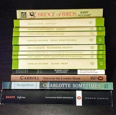Big job lot bundle of Penguin Literary Classics Books Dickens Shakespeare etc