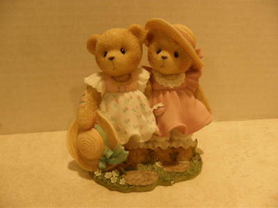 Cherished Teddies ~ FAY AND ARLENE - THANKS FOR ALWAYS BEING BY MY SIDE