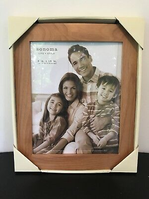 Sonoma 8 X 10 Wooden Picture Frame New