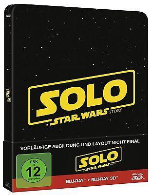 **Solo**: A Star Wars Story 3D Steelbook [3D Blu-ray] [Limited Edition]*NEU+OVP*