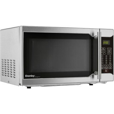 Rca 700 Watts 07 Cu Ft Stainless Microwave Rmw741 Steel 13897