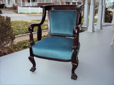 Victorian Late 19th Century Unusual Carved Chair Beautiful No Reserve