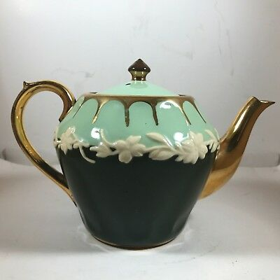 Vintage GIBSON's Teapot Two-Tone Green - Numbered