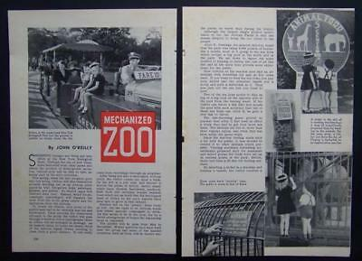 Bronx Zoo 1941 Africa Plains Opening pictorial New York Zoological Park