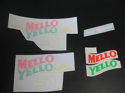 Days Of Thunder Cole Trickle Mello Yellow Movie Prop Nascar Helmet Decals